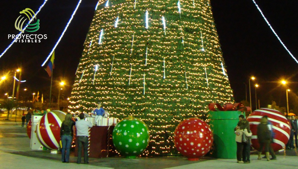 Alquiler y venta de productos de navidad bogot medell n - Iluminacion exterior navidad ...