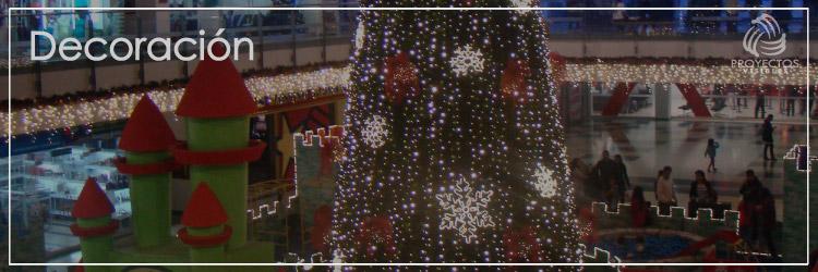 Alquiler de decoración de Navidad