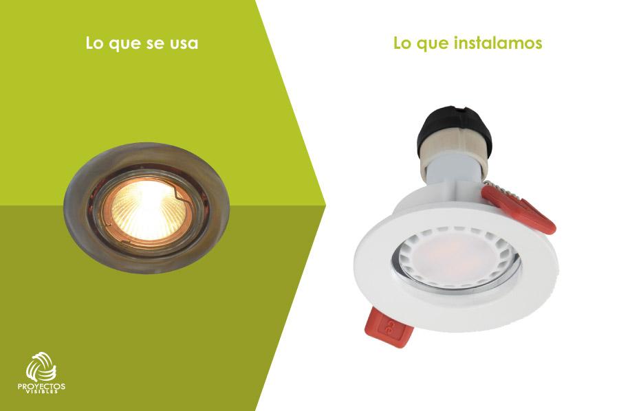 Bombillo Bala LED, productos de Iluminación LED