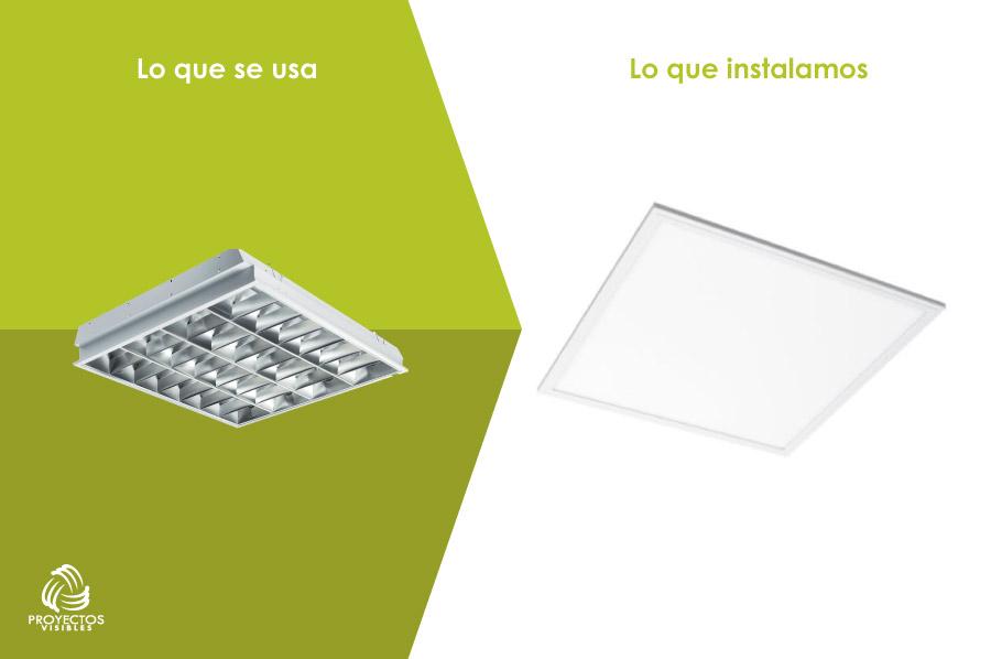 panel led rectangular, productos de Iluminación LED