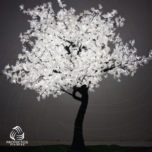 Árbol LED Maple Blanco frío para navidad