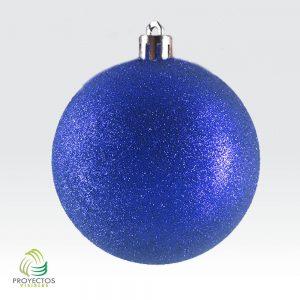 Bolas azules escarchadas de navidad para decoración, Bogotá