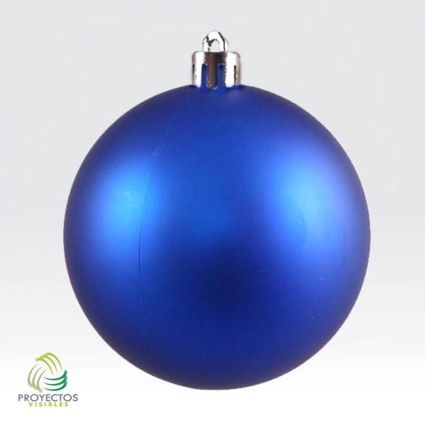 Bolas azules mate de navidad para decoración, Bogotá