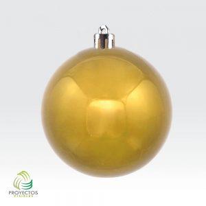 Bolas doradas brillantes de navidad para decoración, Bogotá