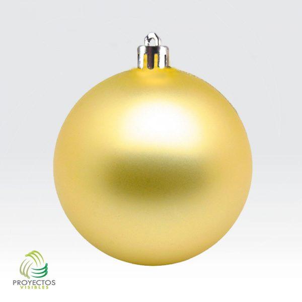Bolas doradas mate de navidad para decoración, Bogotá
