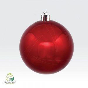 Bolas rojas brillantes de navidad para decoración, Bogotá