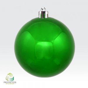 Bolas verdes brillantes de navidad para decoración, Bogotá