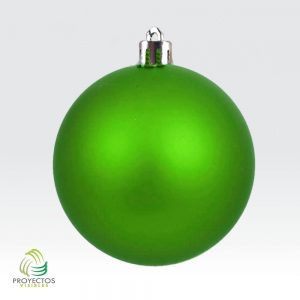 Bolas verdes mate de navidad para decoración, Bogotá