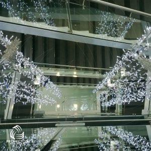 Conector cortina LED para extensiones led