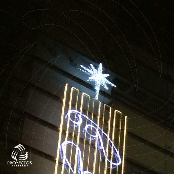 Estrella Led Sirius Blanco frío en Bogotá y Envigado