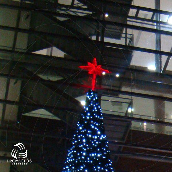 Estrella Led Sirius rojo en Bogotá y Envigado