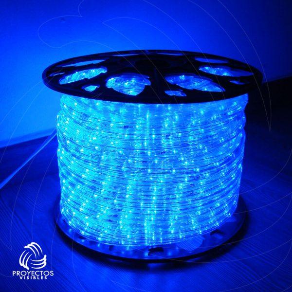 Manquera LED azul para navidad