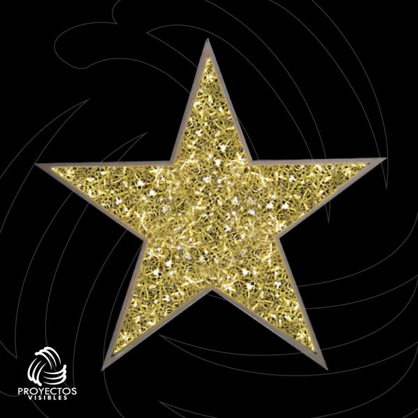 Estrella Led PVNet para navidad