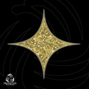 Estrella Led Kiklo 4p 2d para navidad