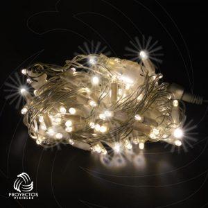 Extensión LED blanco cálido con flash