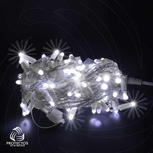 Extensión LED blanco frío con flash