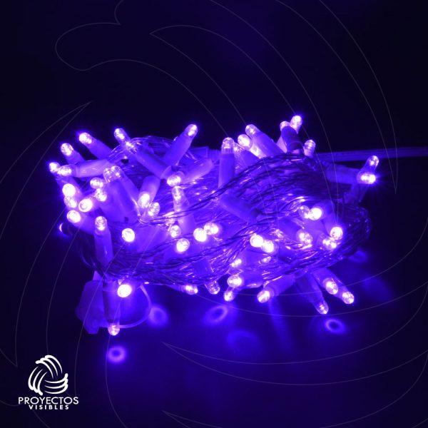 Extensión LED púrpura